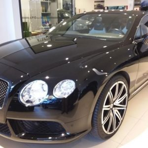 Bentley Continental GT 6.0 W12 Biturbo Basis