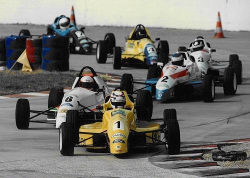 Formula Ford 1800 Zetec Giorgio Vinella 1995 Olympic Motorsport French Championship race Montlhery