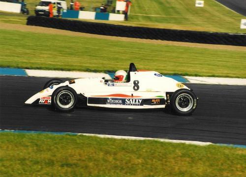 Formula Ford 1800 Zetec Giorgio Vinella 1995 Slick50 British championship Olympic Motorsport Donington Park