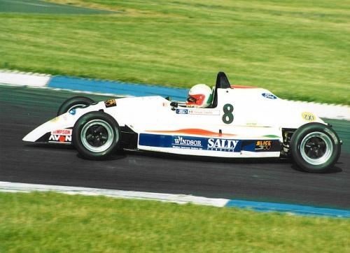 Formula Ford 1800 Zetec Giorgio Vinella 1995 picture Donington Park slick 50 British FFord Championship Olympic Motorsport