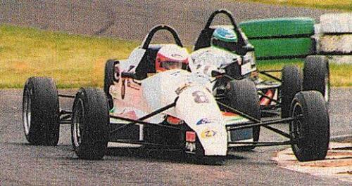 Formula Ford 1800 Zetec Giorgio Vinella 1995 foto Autosport Slick50 British championship gara Oulton Park