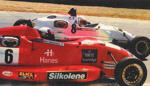 Formula Ford 1800 Zetec Giorgio Vinella 1995 foto Autosport Snetterton