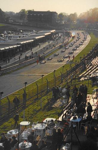 Formula Ford 1800 Zetec Giorgio Vinella Ottobre 1995 Festival Brands Hatch con Kevin McGarrity e Mario Haberfeld 2 classificato partenza finale