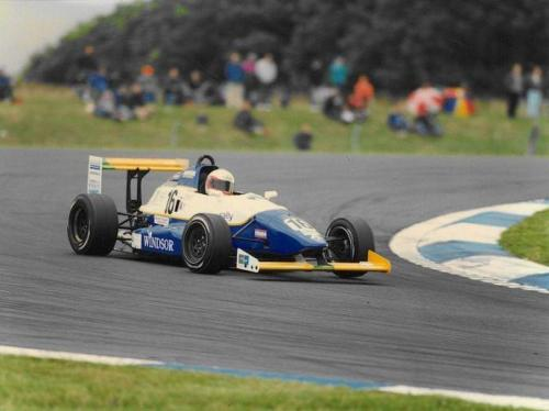 Giorgio Vinella Formula Renault 2000 1996 Donington Park British championship Manor Motorsport Van Diemen