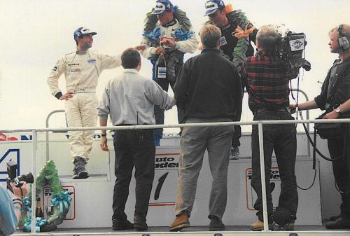 Giorgio Vinella Formula Renault 2000 1996 Knockhill British championship Manor Motorsport Van Diemen podium Anapoli Darren Turner 2