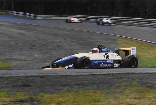 Giorgio Vinella Formula Renault 2000 1996 Oulton Park British championship Manor Motorsport Van Diemen