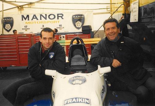 Giorgio Vinella Formula Renault 2000 1996 Silverstone British championship Manor Motorsport Van Diemen with Mario Vinella