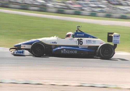 Giorgio Vinella Formula Renault 2000 1996 Brands Hatch British championship Manor Motorsport Van Diemen