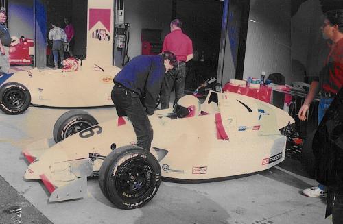 Giorgio Vinella Formula Renault 2000 1996 Monza Gara di Campionato Europeo  Mygale prima della partenza