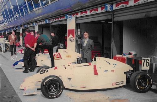 Giorgio Vinella Formula Renault 2000 1996 Monza Gara di campionato Europeo Mygale con Mario Vinella