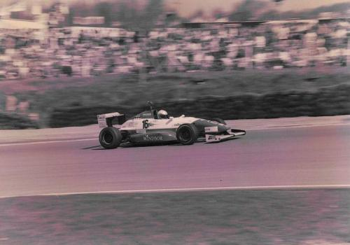 Giorgio Vinella Formula Renault 2000 1996 Silverstone British championship Manor Motorsport Van Diemen