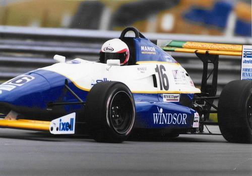 Giorgio Vinella Formula Renault 2000 1996 Snetterton British championship Manor Motorsport Van Diemen