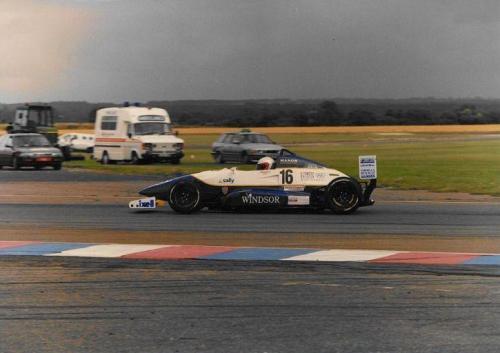 Giorgio Vinella Formula Renault 2000 1996 Thruxton British championship Manor Motorsport Van Diemen 1