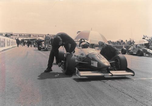 Giorgio Vinella Formula Renault 2000 1996 griglia di partenza Thruxton British championship Manor Motorsport Van Diemen