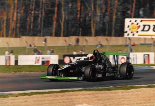 Giorgio Vinella Formula Renault 2000 1997 Donington Park British championship Martello Racing Van Diemen