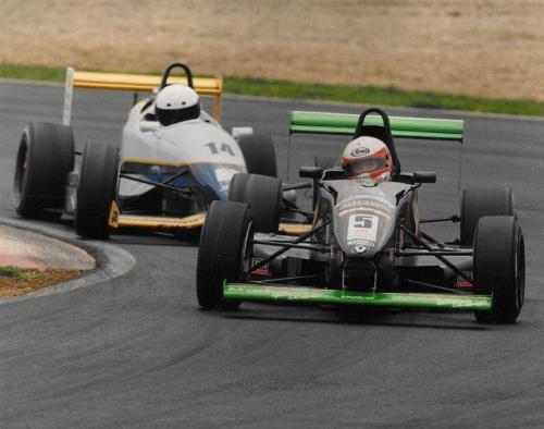 Giorgio Vinella Formula Renault 2000 1997 Oulton Park British championship Martello Racing Van Diemen