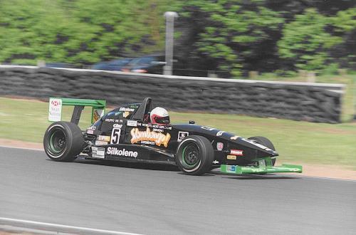 Giorgio Vinella Formula Renault 2000 1997 Oulton Park British championship Martello Racing Van Diemen starting straight line
