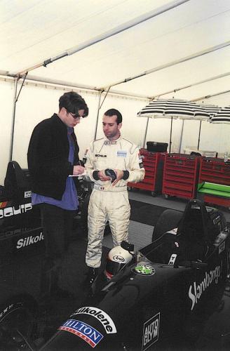 Giorgio Vinella Formula Renault 2000 1997 Silverstone British championship Martello Racing Van Diemen Autosport interview