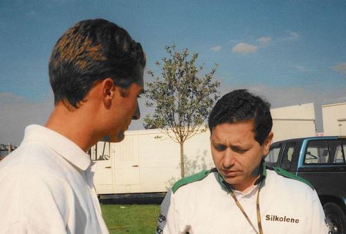 Giorgio Vinella Formula Renault 2000 1997 Silverstone British championship Martello Racing Van Diemen Mick Kouros best race engineer