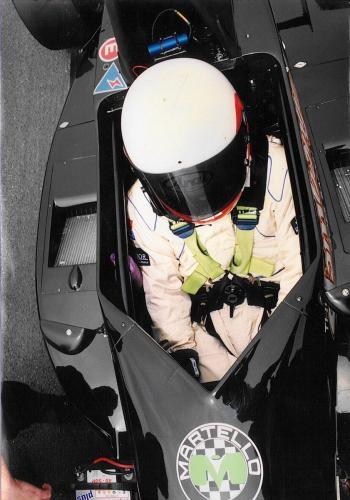 Giorgio Vinella Formula Renault 2000 1997 Snetterton British championship Martello Racing Van Diemen  starting grid