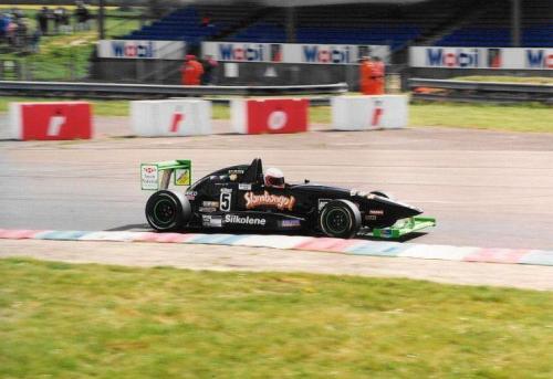 Giorgio Vinella Formula Renault 2000 1997 Thruxton British championship Martello Racing Van Diemen