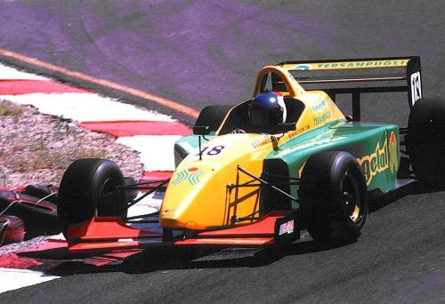 Giorgio Vinella International Formula 3000 Championship 1998 Nurburgring Coloni chicane