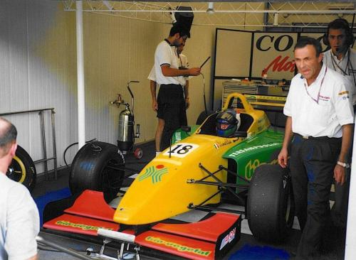 Giorgio Vinella International Formula 3000 Championship 1998 Nurburgring Team Coloni