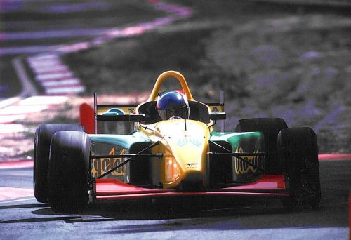 Giorgio Vinella International Formula 3000 Championship 1998 Pergusa Coloni braking chicane