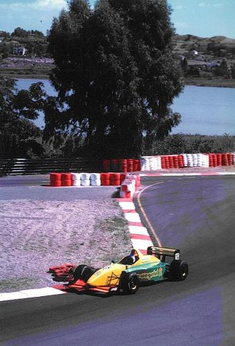 Giorgio Vinella International Formula 3000 Championship 1998 Pergusa Coloni last chicane