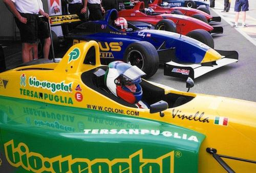 Giorgio Vinella International Formula 3000 Championship 1998 Spa Francorchamps Team Coloni race start