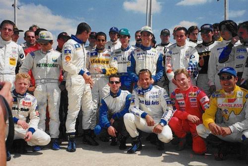 Giorgio Vinella International Formula 3000 Championship 1998 drivers Barcellona Montmelo Montoya Horner Heidfeld