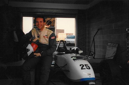 Giorgio Vinella Snetterton Test Formula 3 Dallara Carlin Motorsport 1998 1