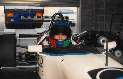 Giorgio Vinella Snetterton Test Formula 3 Dallara Carlin Motorsport 1998 2