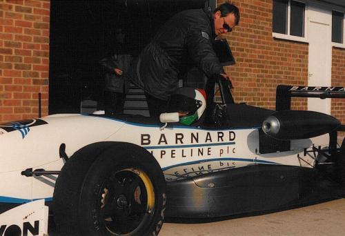 Giorgio Vinella Snetterton Test Formula 3 Dallara Carlin Motorsport 1998 3