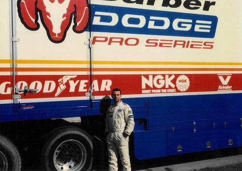 Giorgio Vinella Sebring Florida Test Formula Barber Dodge Pro Series Truck