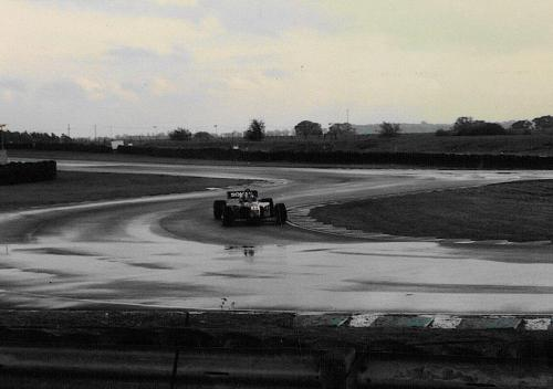 Giorgio Vinella Snetterton Test Formula 3000 Lola T96 Zyteck Bob Salisbury Engineering 1998 chicane wet track