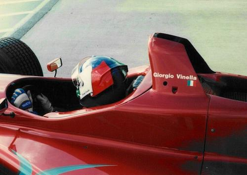 Giorgio Vinella Snetterton Test Formula 3000 Lola T96 Zyteck Bob Salisbury Engineering 1998 entering track