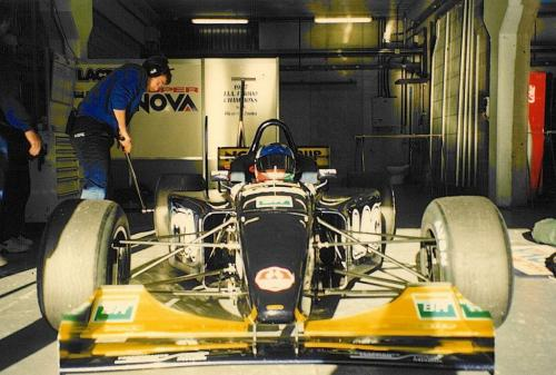 Giorgio Vinella International Formula 3000 Championship 1998 Barcellona Test Super Nova box David Sears