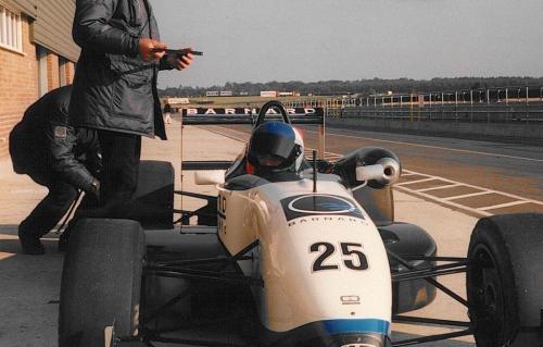Giorgio Vinella Snetterton Test Formula 3 Dallara Carlin Motorsport 1998