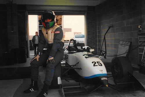 Giorgio Vinella Snetterton Test Formula 3 Dallara Carlin Motorsport 1998 box