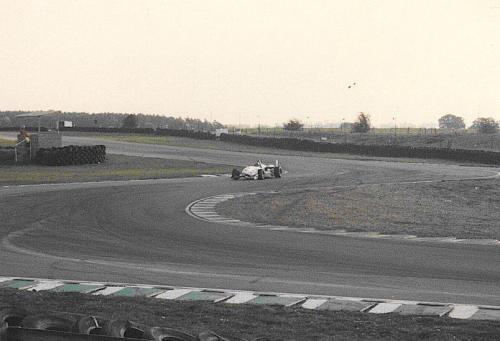 Giorgio Vinella Snetterton Test Formula 3 Dallara Carlin Motorsport 1998 ingresso chicane