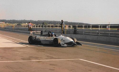 Giorgio Vinella Snetterton Test Formula 3 Dallara Carlin Motorsport 1998 ingresso pista