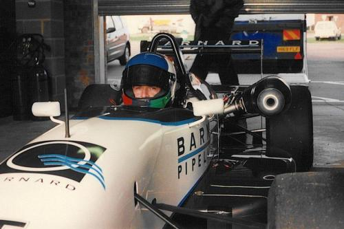 Giorgio Vinella Snetterton Test Formula 3 Dallara Carlin Motorsport 1998 partenza