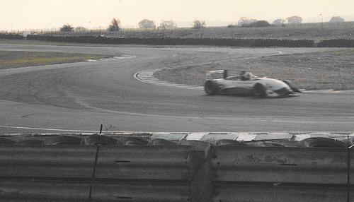 Giorgio Vinella Snetterton Test Formula 3 Dallara Carlin Motorsport 1998 uscita chicane