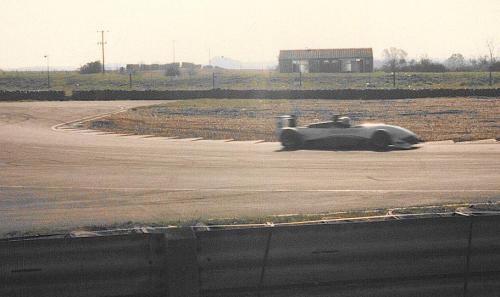 Giorgio Vinella Snetterton Test Formula 3 Dallara Carlin Motorsport 1998 uscita chicane 2