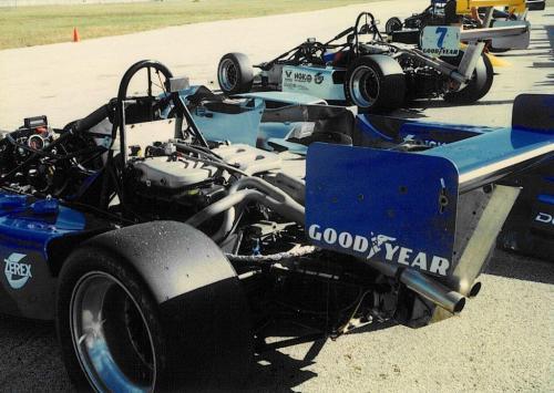Giorgio Vinella Sebring FloridaTest Formula Barber Dodge Pro Series paddock