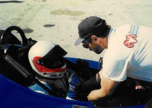 Giorgio Vinella Sebring Test Formula Barber Dodge Pro Series sistemazione cinture