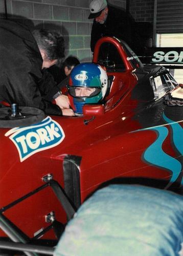 Giorgio Vinella Snetterton Test Formula 3000 Lola T96 Zyteck Bob Salisbury Engineering 1998