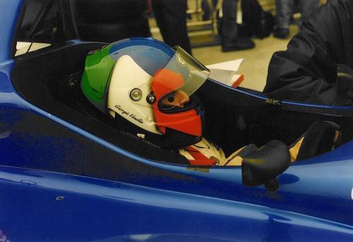 Giorgio Vinella Campionato Internazionale Formula 3000 1998 Barcellona Coloni box