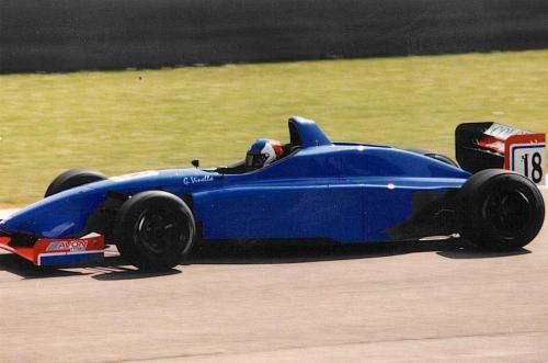 Giorgio Vinella Campionato Internazionale Formula 3000 1998 Barcellona Montmelo Coloni Test